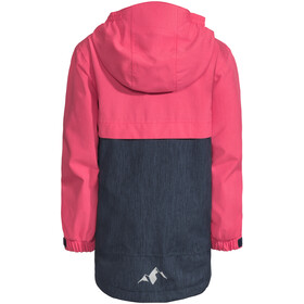 VAUDE Hylax 2-laags Jas Kinderen, bright pink